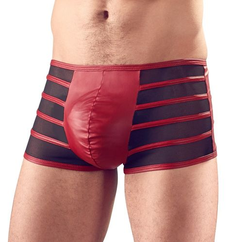 Svenjoyment – Pants Black/Red